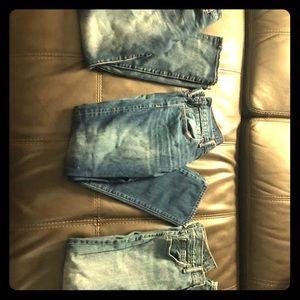 3 New Pairs Designer Jeans